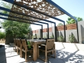 "Visceral Supplied Pergola in ""Fall"" Pattern"