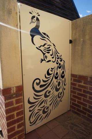 Peacock Gate